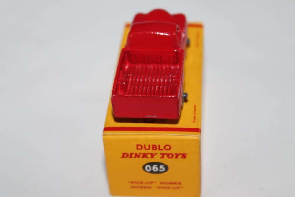 Dublo Dinky Toy 065 Morris Pick Up-back