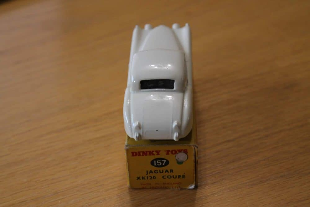 Dinky Toys 157 Jaguar XK120 White-back