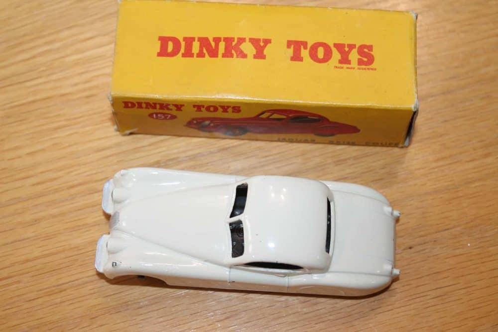 Dinky Toys 157 Jaguar XK120 White-top