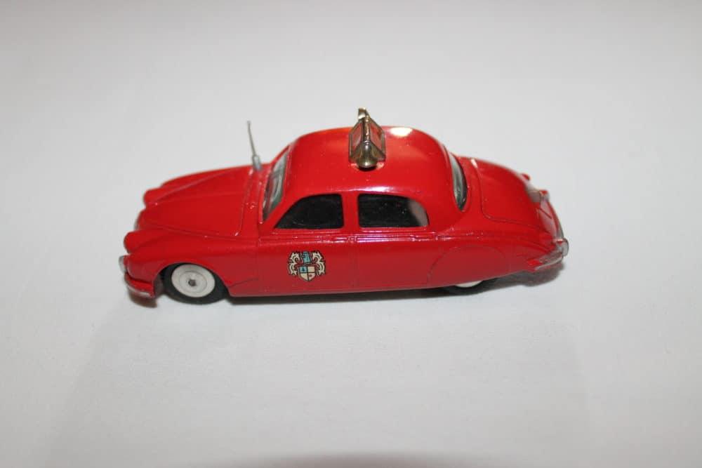 Corgi Toys 213 Jaguar Fire Chief Car