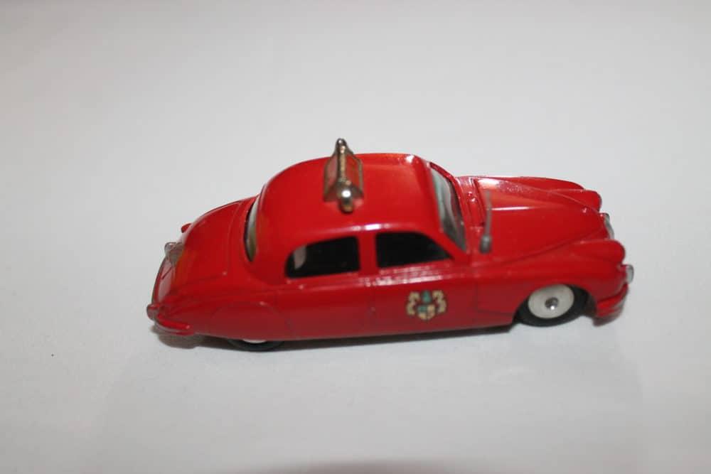 Corgi Toys 213 Jaguar Fire Chief Car-side