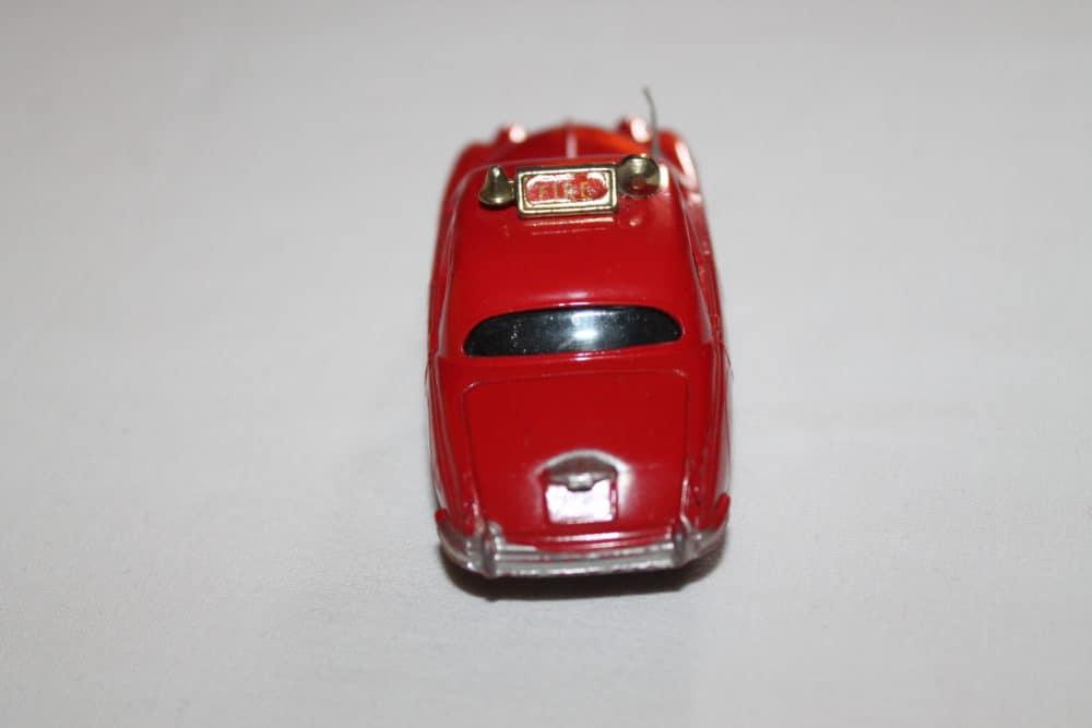 Corgi Toys 213 Jaguar Fire Chief Car-back