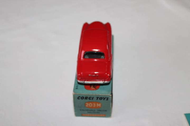 Corgi Toys 203M Vauxhall Velox Mechanical-back