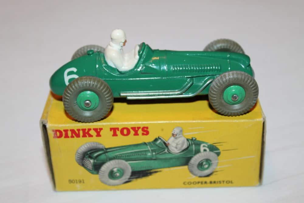 Dinky Toys 023g Cooper Bristol Racing Car-side