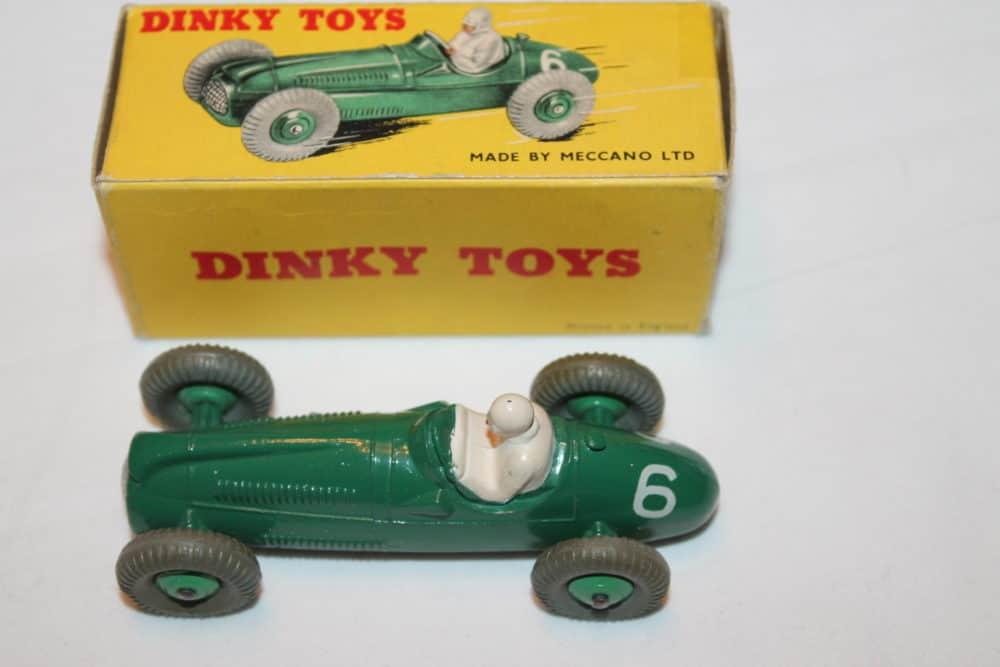 Dinky Toys 023g Cooper Bristol Racing Car-top