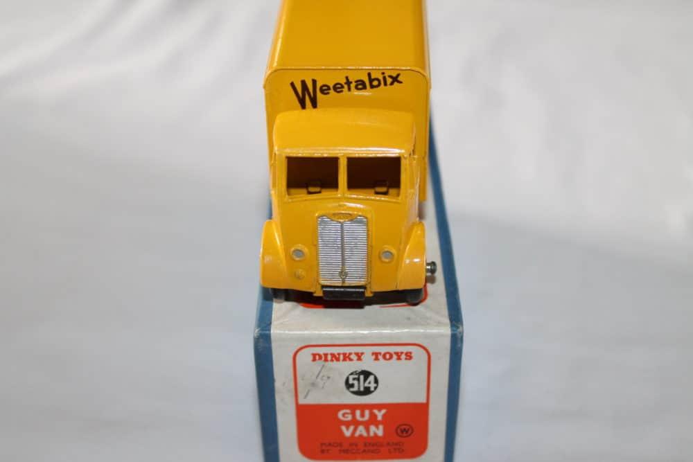Dinky Toys 514 Guy Weetabix Van-front