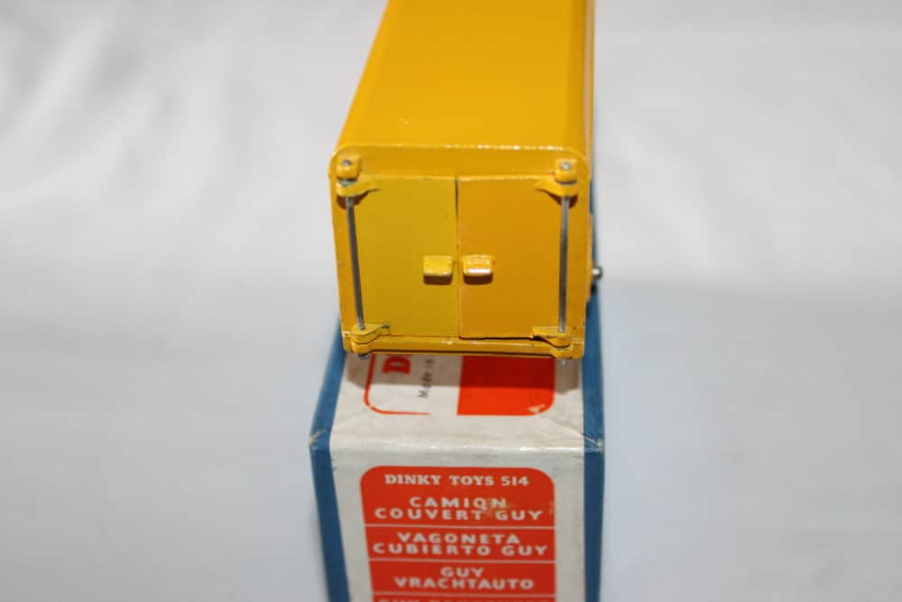 Dinky Toys 514 Guy Weetabix Van-back