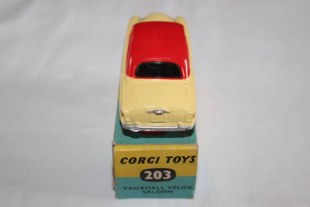 Corgi Toys 203 Vauxhall Velox Saloon-back