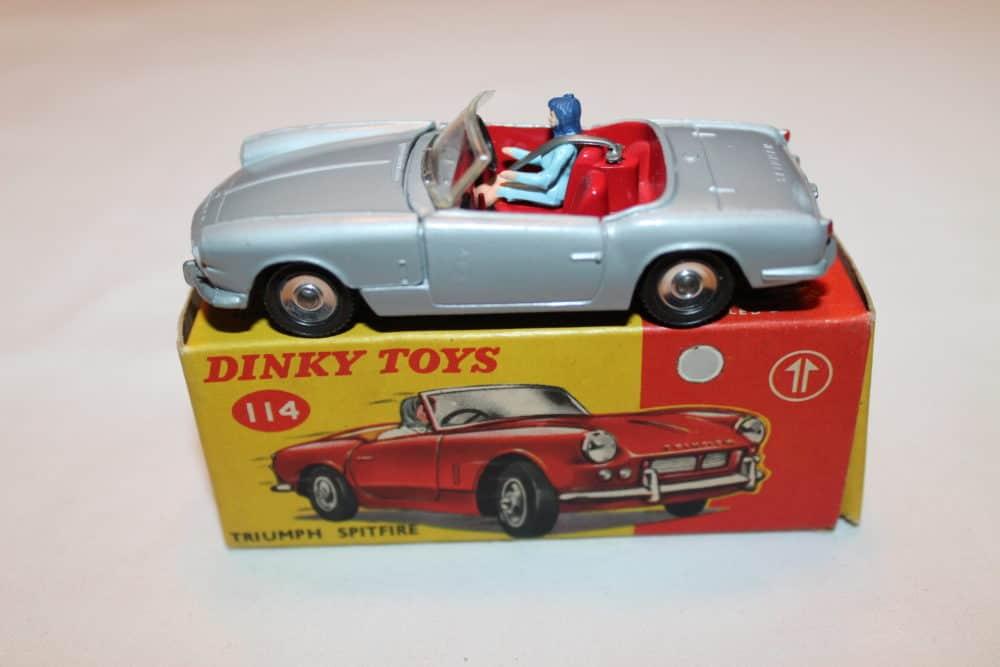 Dinky Toys 114 Triumph Spitfire