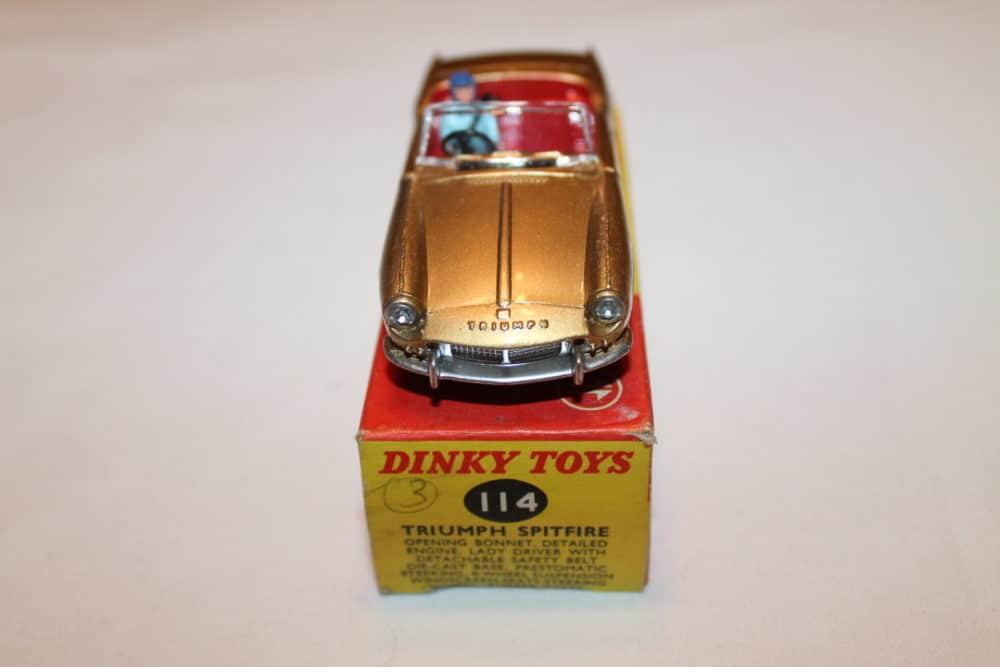 Dinky Toys 114 Triumph Spitfire-front