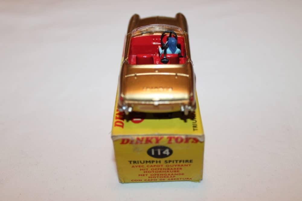 Dinky Toys 114 Triumph Spitfire-back