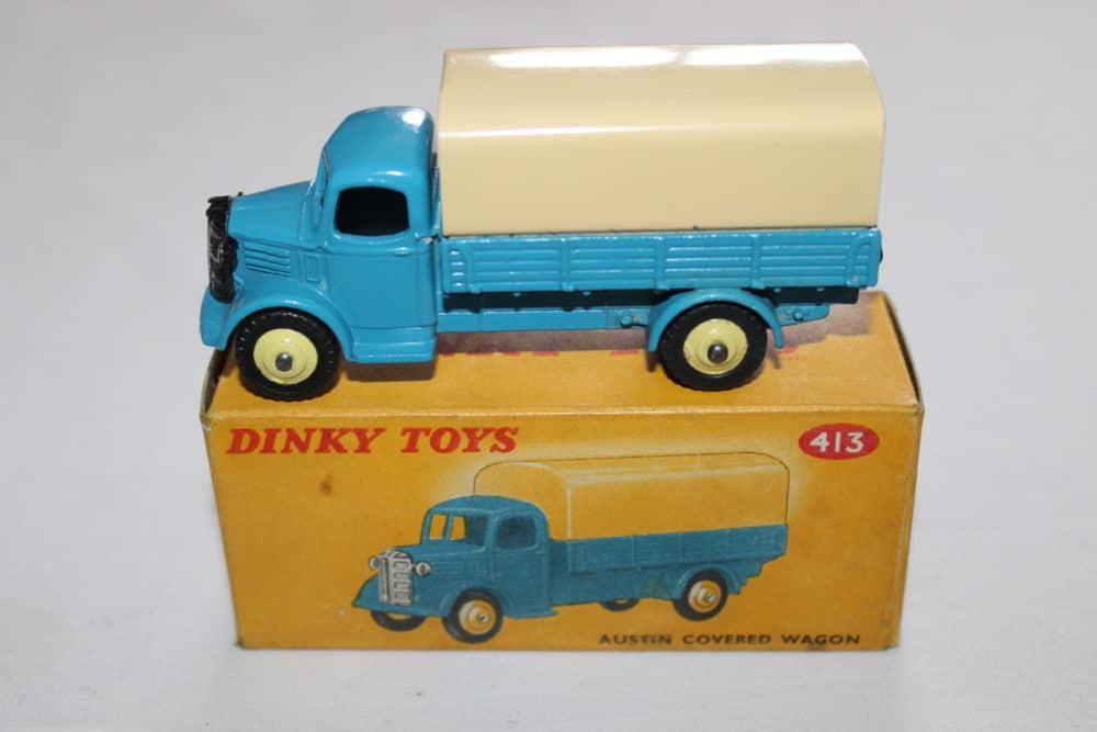 Dinky Toys 413 Austin Covered Wagon