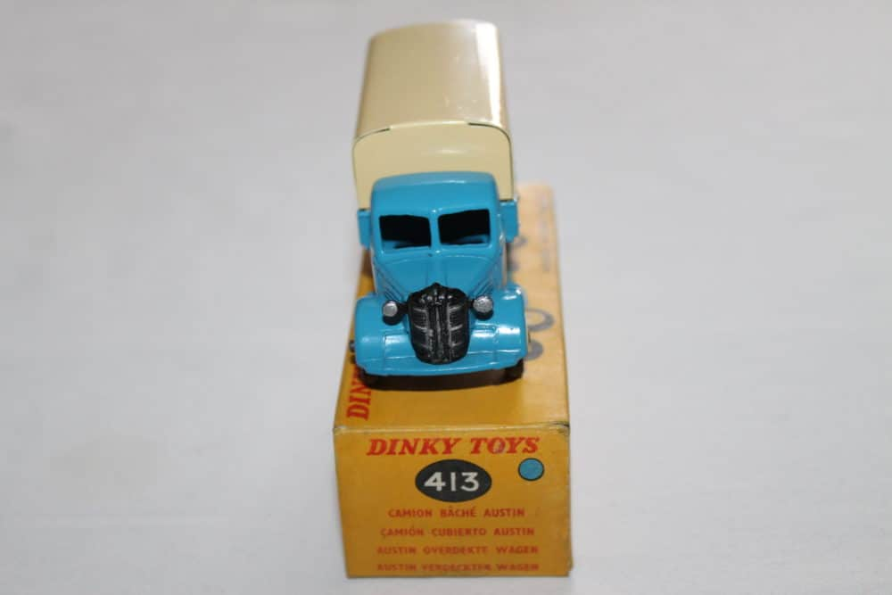 Dinky Toys 413 Austin Covered Wagon-front