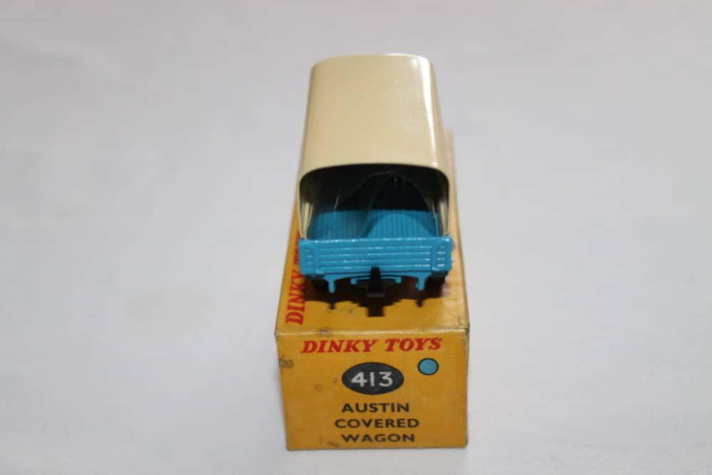 Dinky Toys 413 Austin Covered Wagon-back
