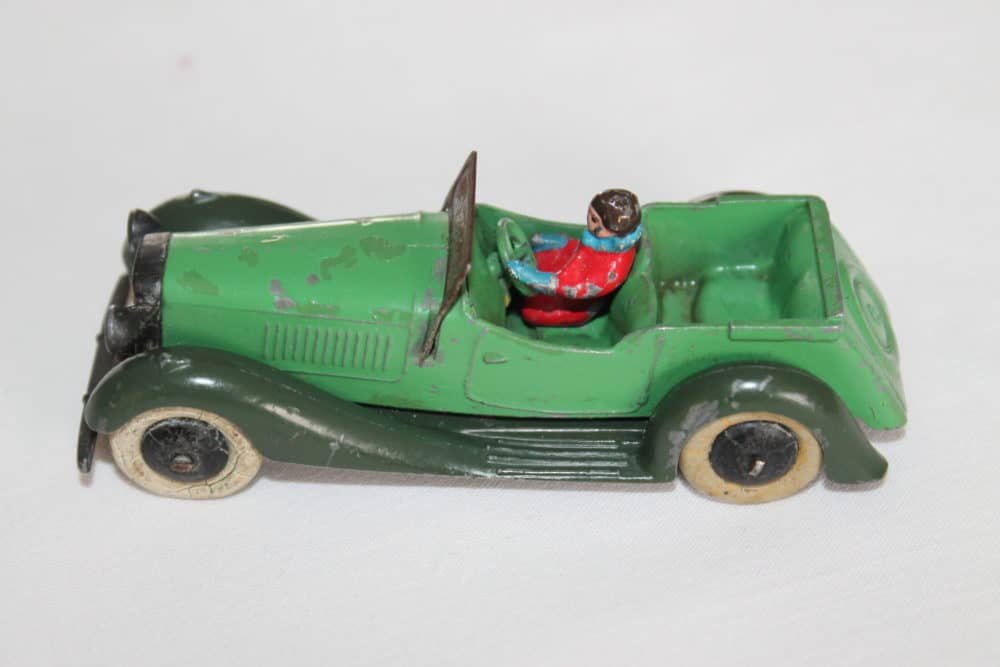 Dinky Toys Pre-War 036f 4 Seater Tourer with Driver