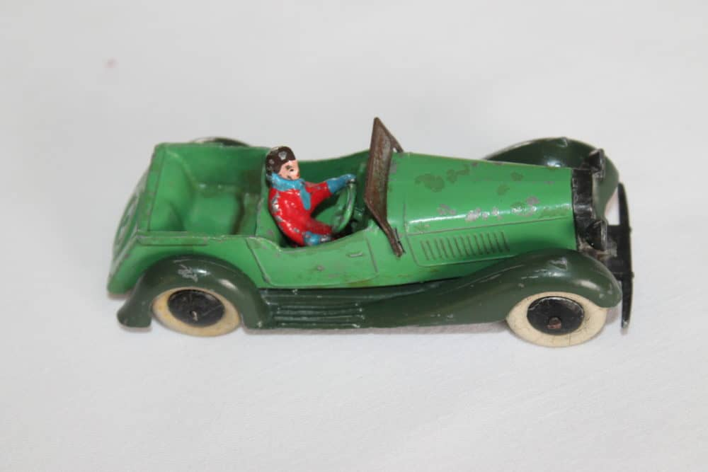 Dinky Toys Pre-War 036f 4 Seater Tourer with Driver-side