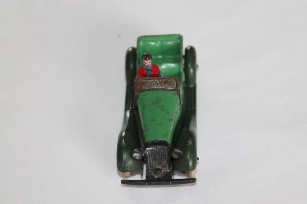 Dinky Toys Pre-War 036f 4 Seater Tourer with Driver-front