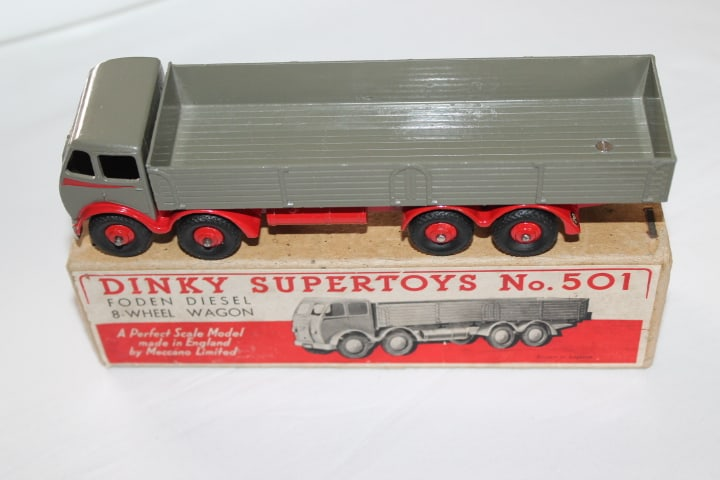 Dinky Toys 501 1st Cab Foden 8 Wheel Wagon