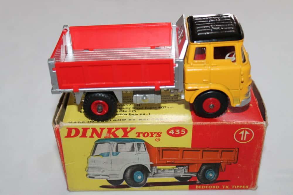 Dinky Toys 435 Bedford TK Tipper-side
