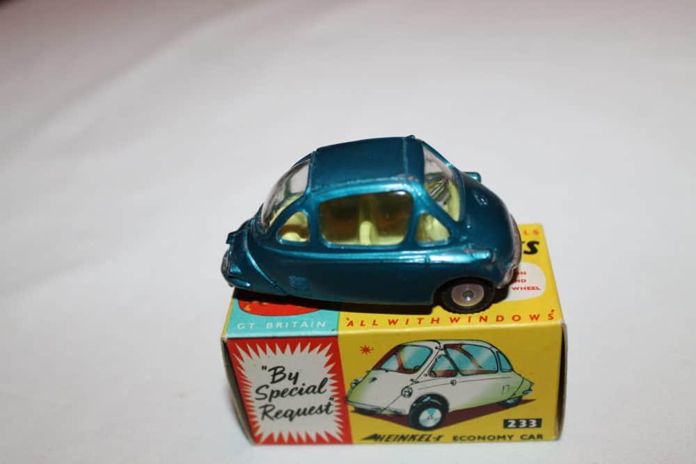 Corgi Toys 233 Heinkel Economy Car-side