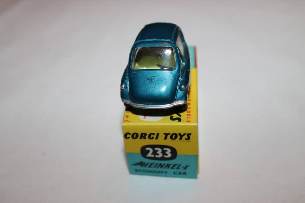 Corgi Toys 233 Heinkel Economy Car-front
