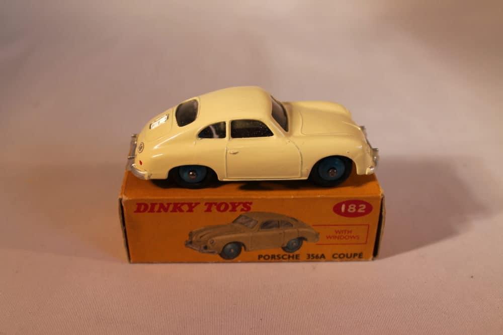 Dinky Toys 182 Porsche 356A-side
