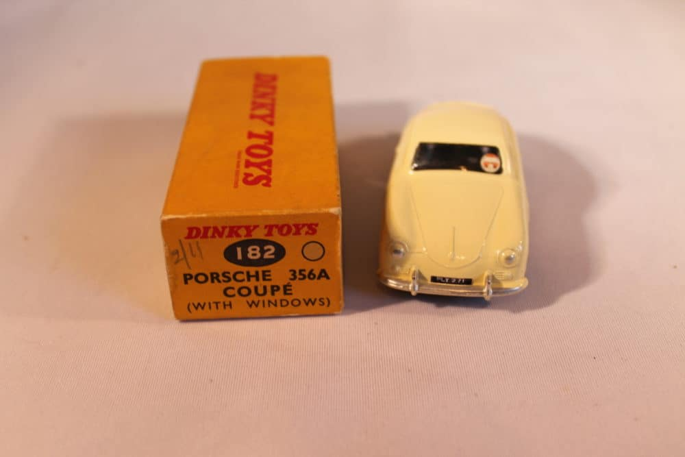 Dinky Toys 182 Porsche 356A-front
