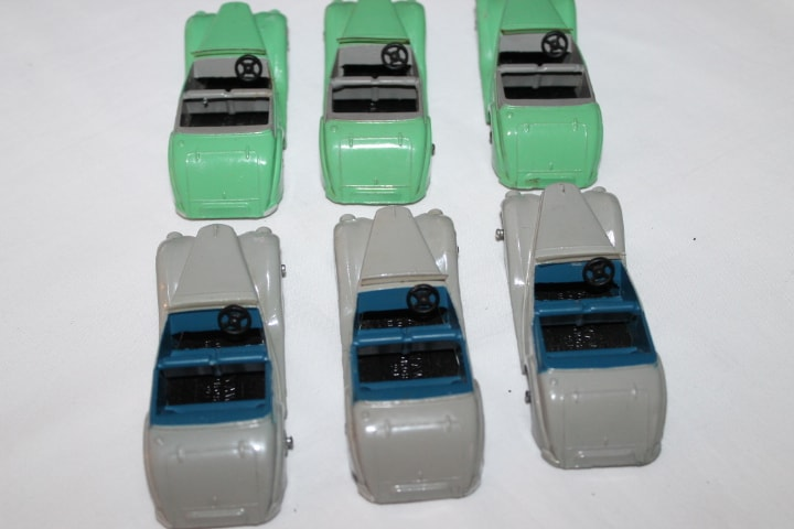 Dinky Toys 036E Armstrong Siddeley Trade Box of Six-back