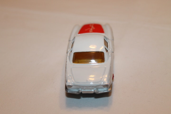 Corgi Toys 201 Volvo P.1800 The 'Saint's Car-Red Spot wheels-back
