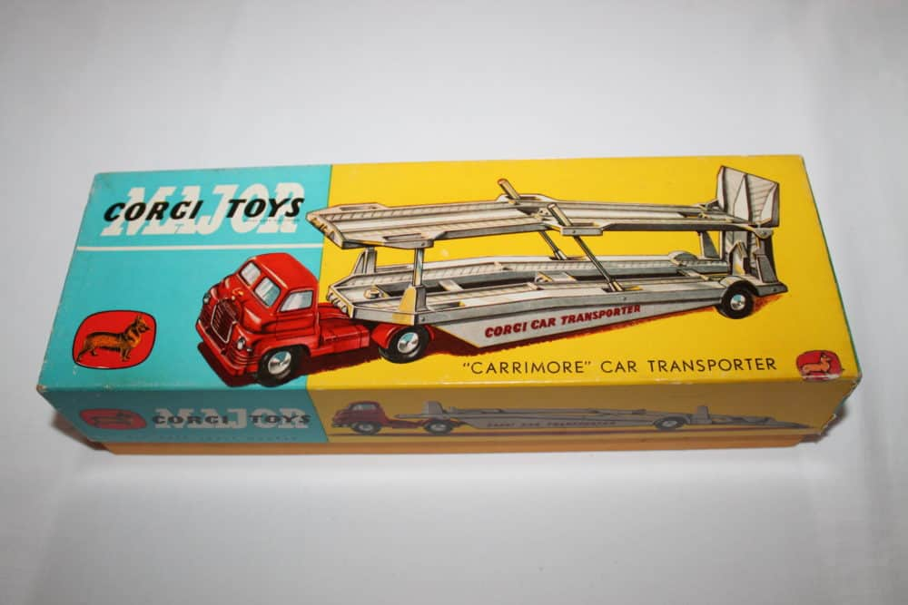 Corgi Toys 1101 Bedford Car Transporter-boxtop