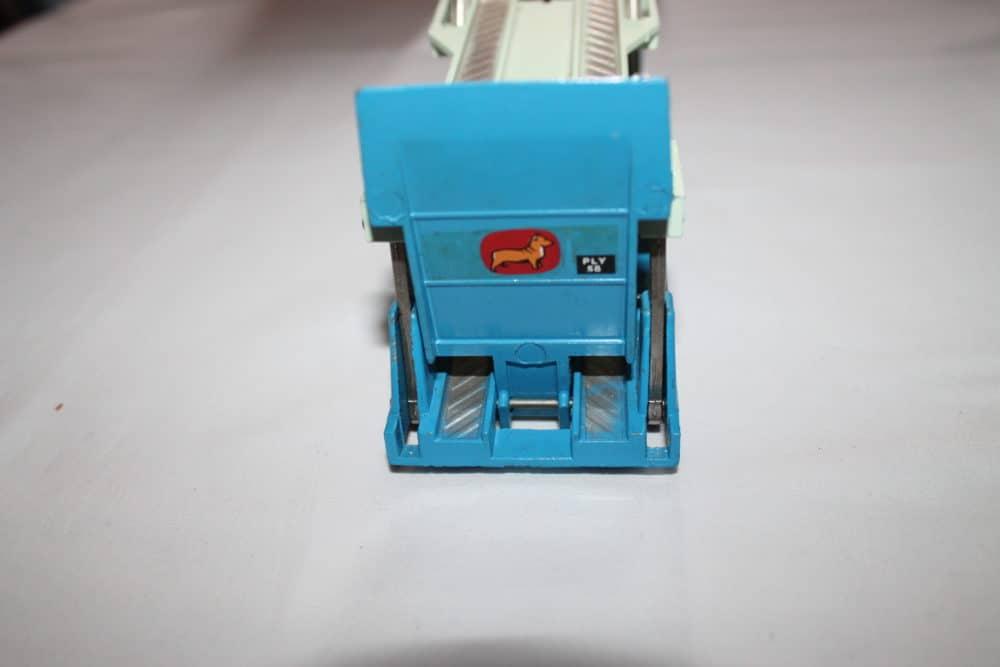 Corgi Toys 1101 Bedford Car Transporter-back