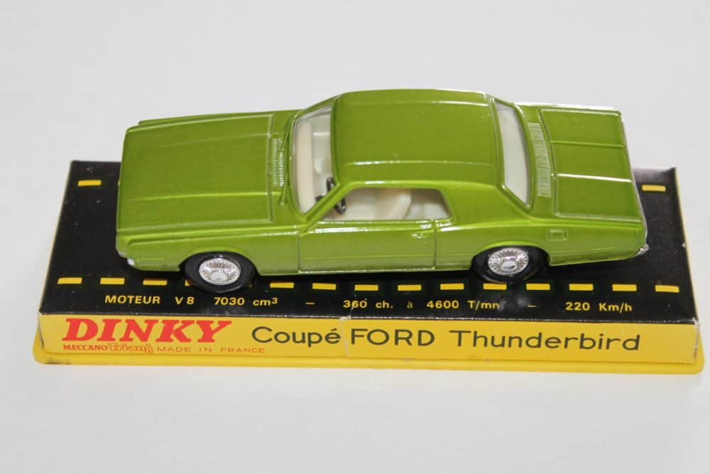 French Dinky Toys 1419 Ford Thunderbird Coupe