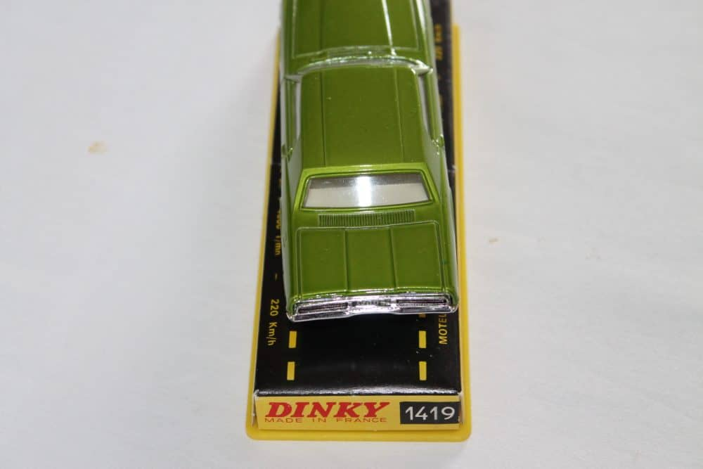 French Dinky Toys 1419 Ford Thunderbird Coupe-back