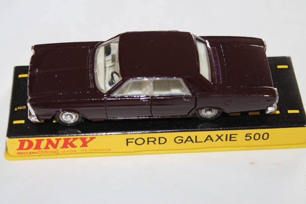 French Dinky Toys 1402 Ford Galaxie Metallic Deep Plum