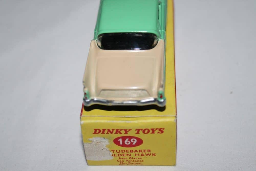 Dinky Toys 169 Studebaker Golden Hawk-back