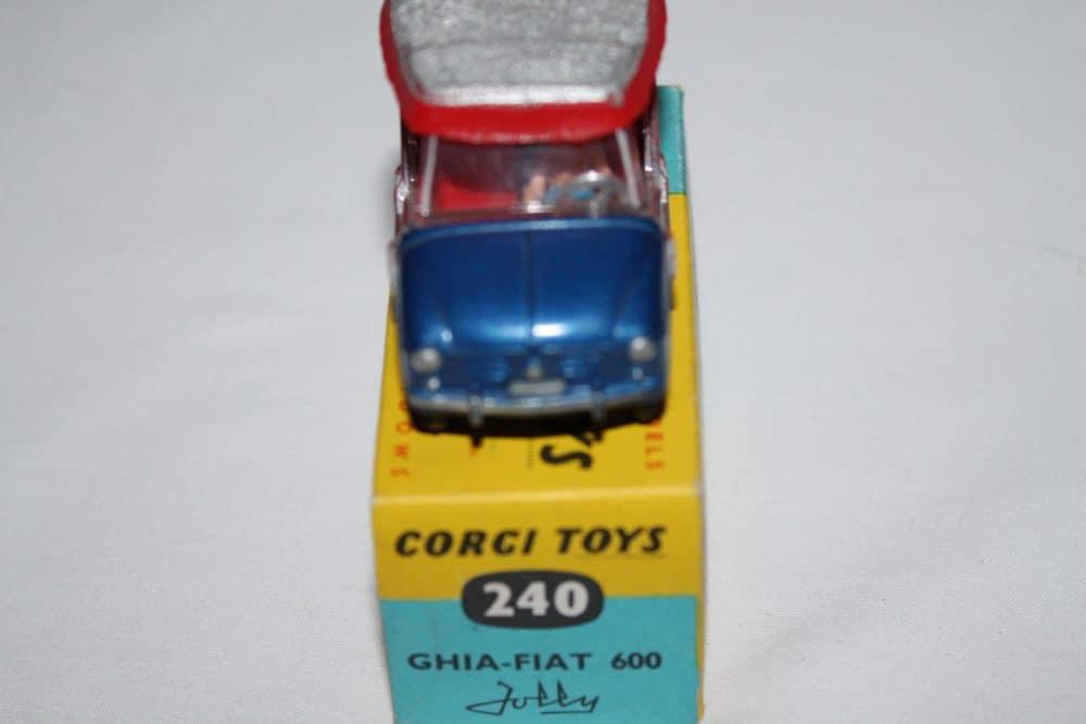Corgi Toys 240 Ghia-Fiat Jolly 600-front