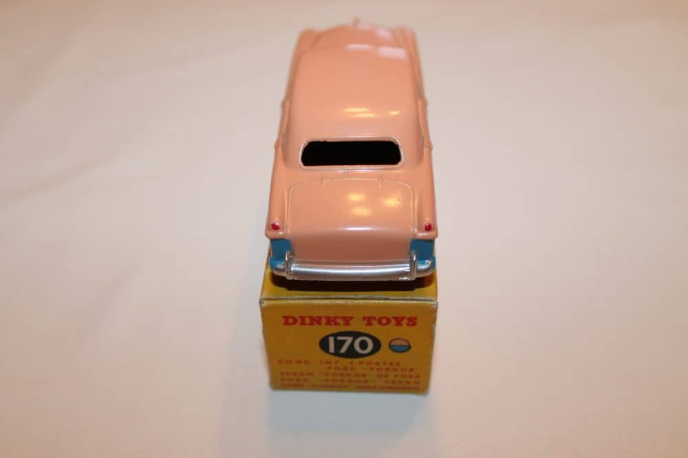 Dinky Toys 170 Ford Forder Lowline-back