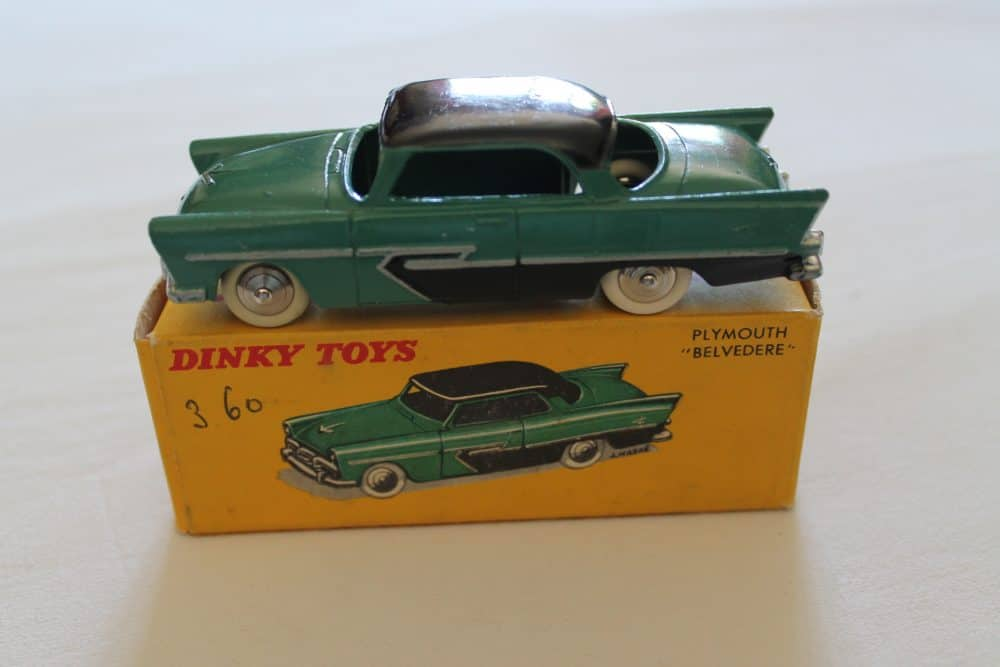 French Dinky Toys 024D Plymouth Belvedere