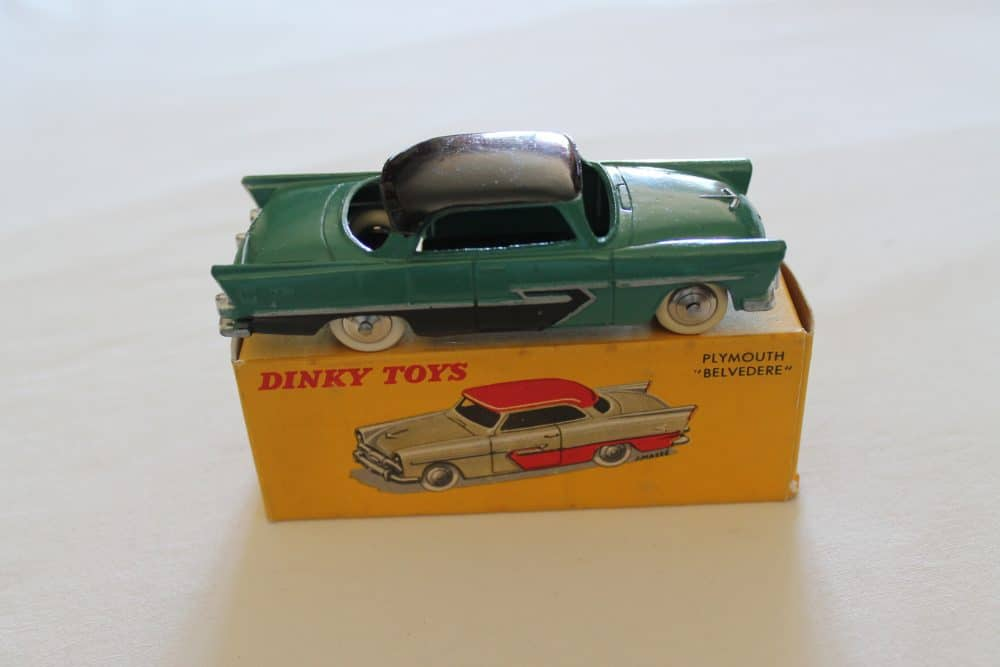 French Dinky Toys 024D Plymouth Belvedere-side