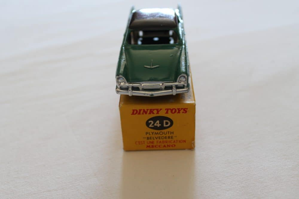 French Dinky Toys 024D Plymouth Belvedere-front