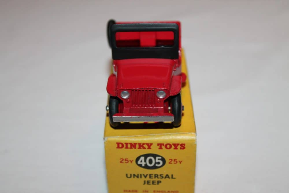 Dinky Toys 405 Universal Jeep-front