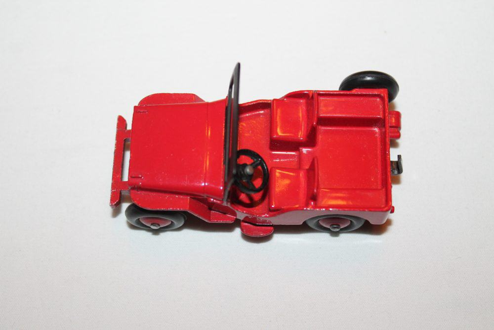 Dinky Toys 405 Universal Jeep-top
