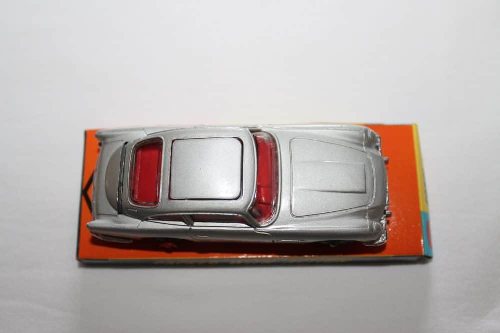 Corgi Toys 270 Silver James Bond Aston Martin 1st Issue Winged Box-top