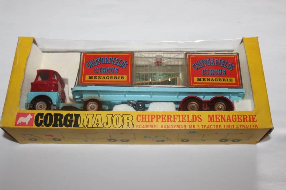 Corgi Toys 1139 Chipperfield's Menagerie