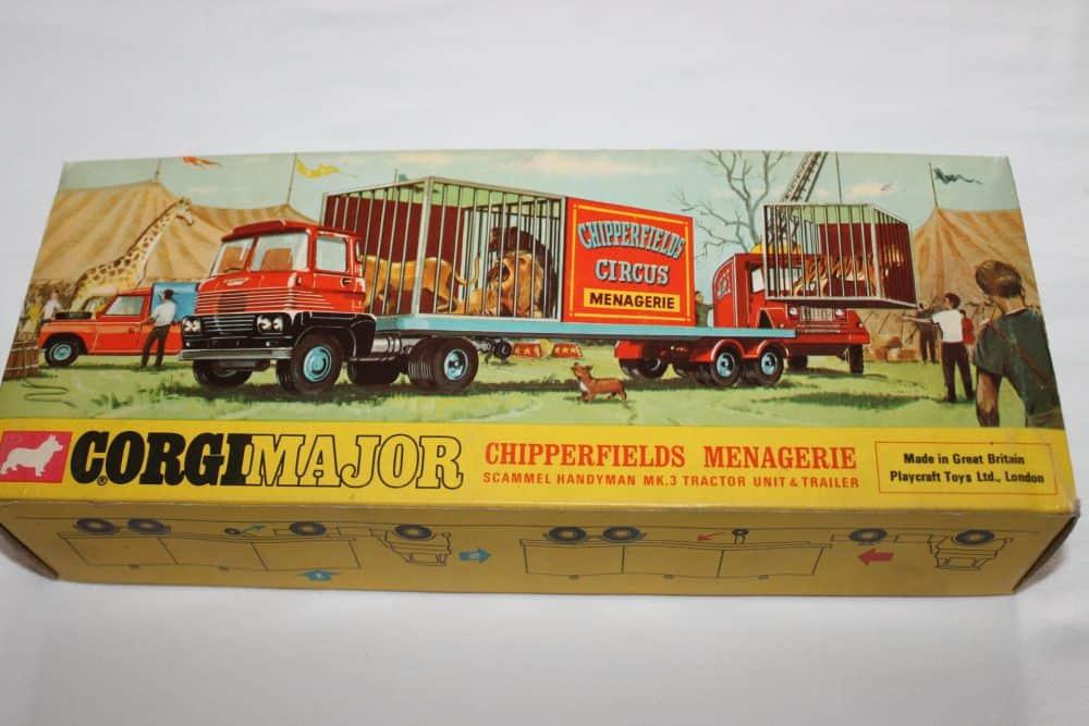 Corgi Toys 1139 Chipperfield's Menagerie-boxback