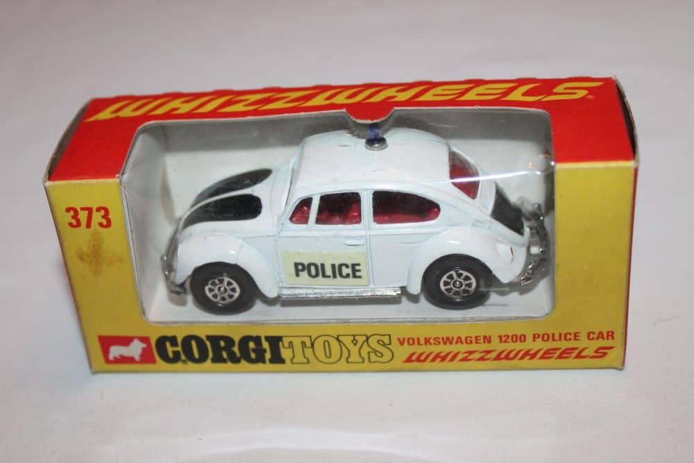 Corgi Toys 373 Volkswagen 1200 Police Car
