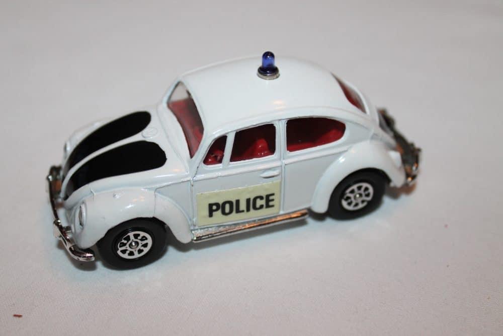 Corgi Toys 373 Volkswagen 1200 Police Car-leftside