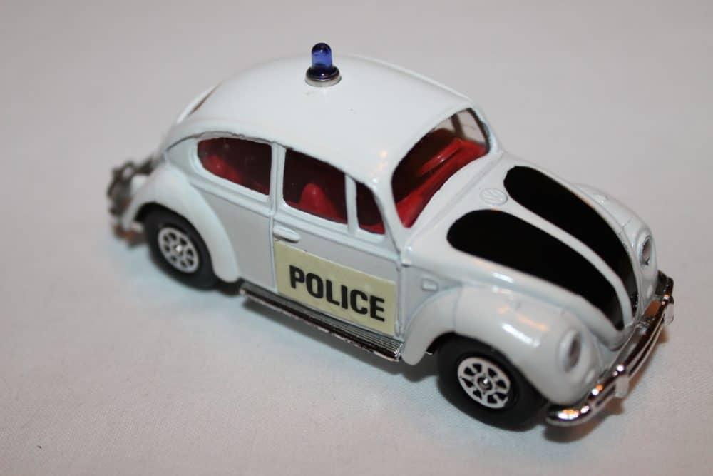 Corgi Toys 373 Volkswagen 1200 Police Car-rightside