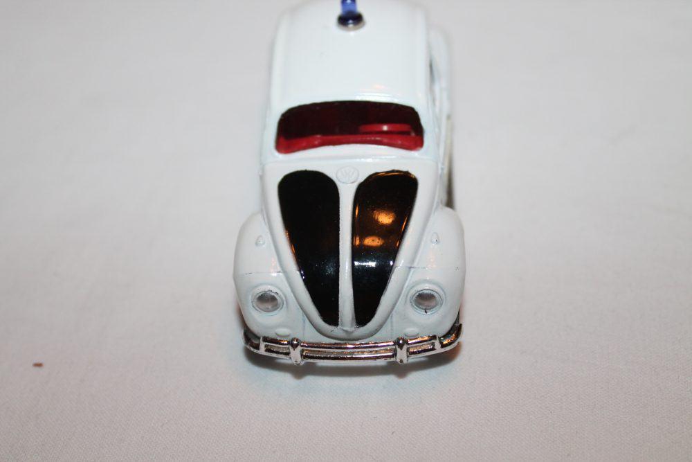 Corgi Toys 373 Volkswagen 1200 Police Car-front