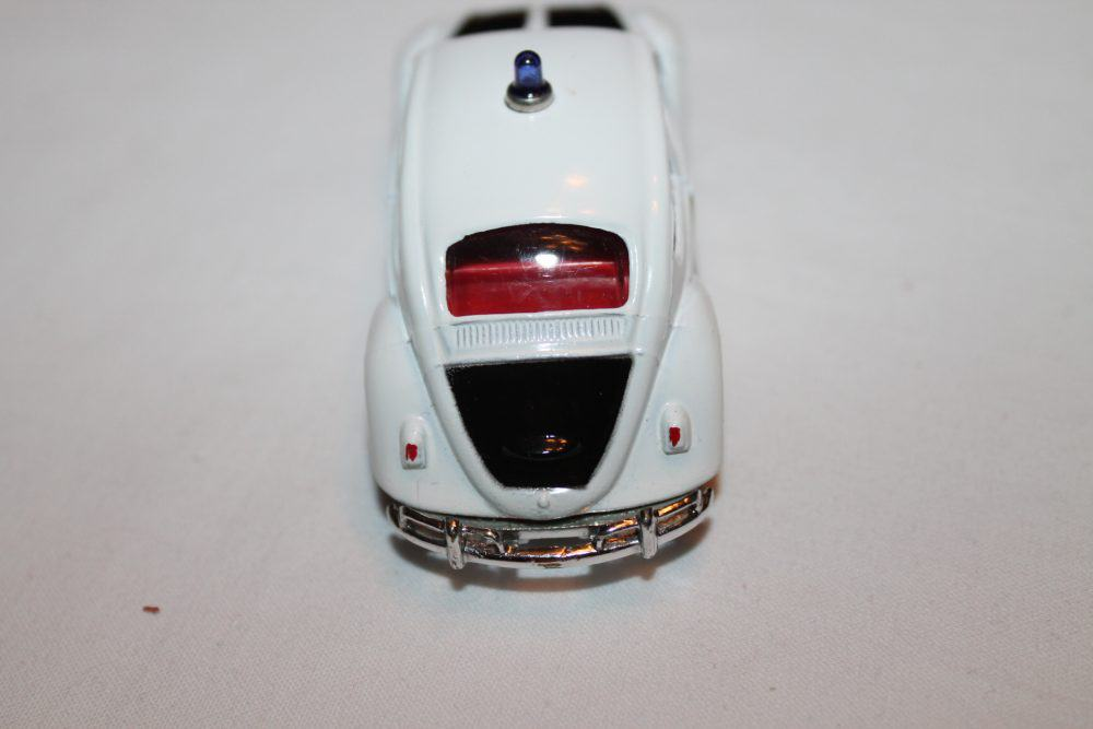 Corgi Toys 373 Volkswagen 1200 Police Car-back